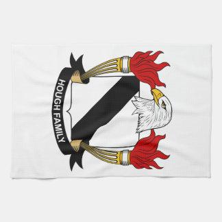 Escudo de la familia del corvejón toallas de cocina