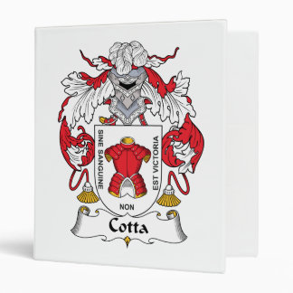 Escudo de la familia del Cotta