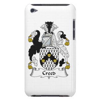 Escudo de la familia del credo Case-Mate iPod touch coberturas