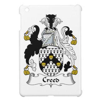 Escudo de la familia del credo iPad mini cobertura
