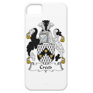 Escudo de la familia del credo iPhone 5 cárcasa