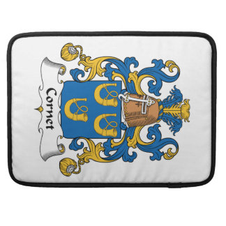 Escudo de la familia del cucurucho funda para macbook pro