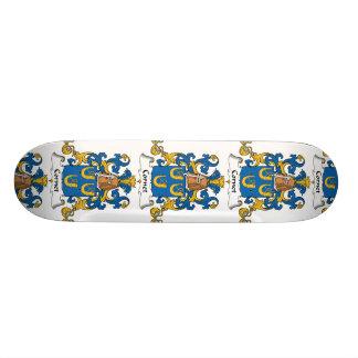 Escudo de la familia del cucurucho tablas de skate