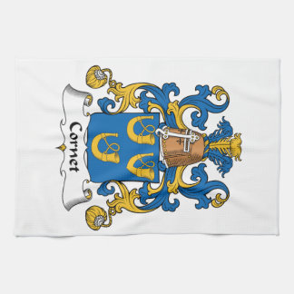 Escudo de la familia del cucurucho toalla