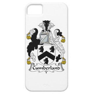 Escudo de la familia del Cumberland iPhone 5 Coberturas