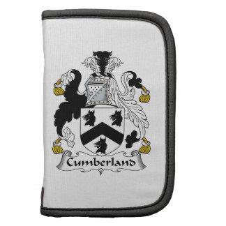 Escudo de la familia del Cumberland Organizadores