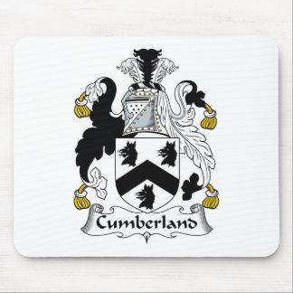 Escudo de la familia del Cumberland Alfombrillas De Ratones