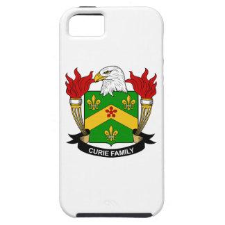 Escudo de la familia del curie iPhone 5 funda