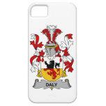 Escudo de la familia del Daly iPhone 5 Case-Mate Protectores
