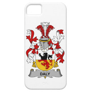 Escudo de la familia del Daly iPhone 5 Carcasa
