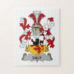Escudo de la familia del Daly Rompecabezas