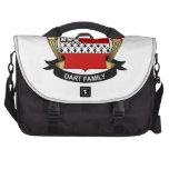 Escudo de la familia del dardo bolsas para portatil