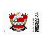 Escudo de la familia del dardo sellos