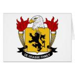 Escudo de la familia del De Grasse Felicitaciones