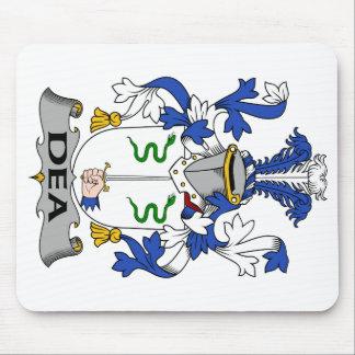 Escudo de la familia del Dea Alfombrilla De Ratones