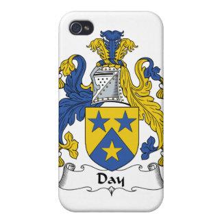 Escudo de la familia del día iPhone 4 carcasa
