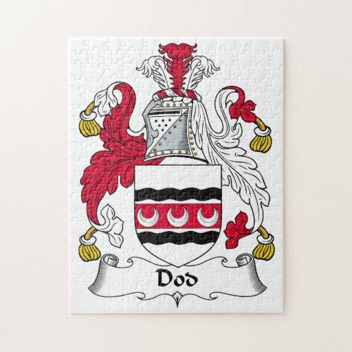 Escudo de la familia del Dod Rompecabezas