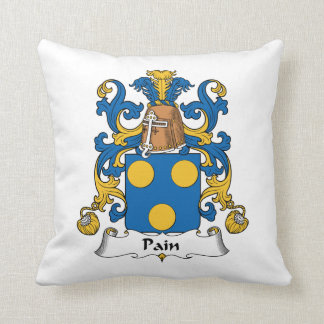 Escudo de la familia del dolor almohadas