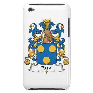 Escudo de la familia del dolor barely there iPod fundas