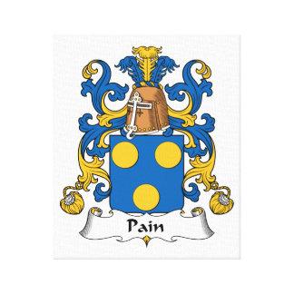 Escudo de la familia del dolor impresion en lona