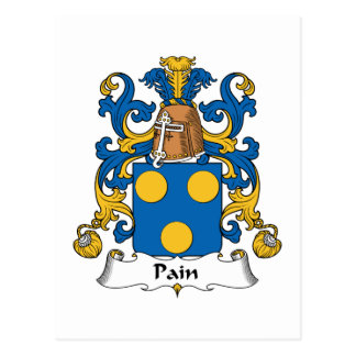 Escudo de la familia del dolor postales