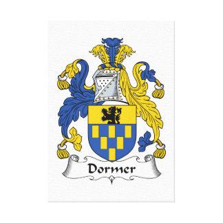 Escudo de la familia del Dormer Lona Estirada Galerías