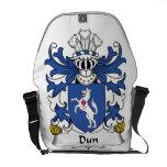 Escudo de la familia del Dun Bolsas Messenger