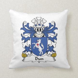 Escudo de la familia del Dun Cojín Decorativo