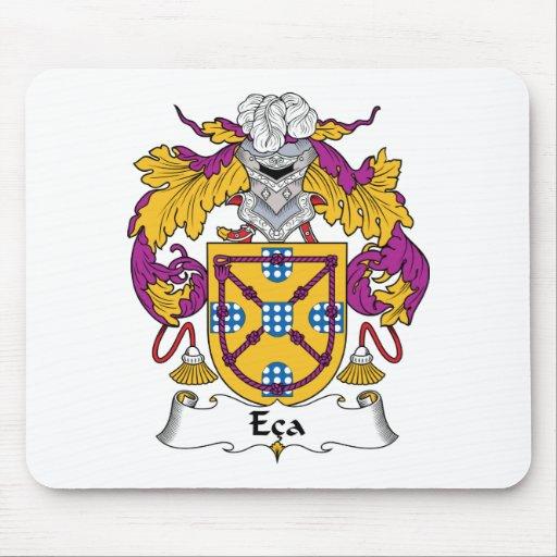 Escudo de la familia del Eca Tapetes De Ratón
