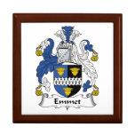Escudo de la familia del Emmet Cajas De Regalo