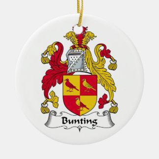 Escudo de la familia del empavesado ornamento de reyes magos