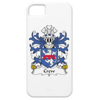 Escudo de la familia del equipo iPhone 5 Case-Mate fundas