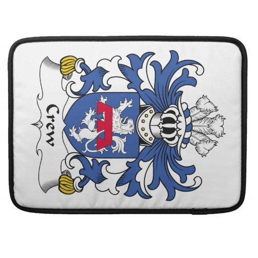 Escudo de la familia del equipo funda para macbook pro
