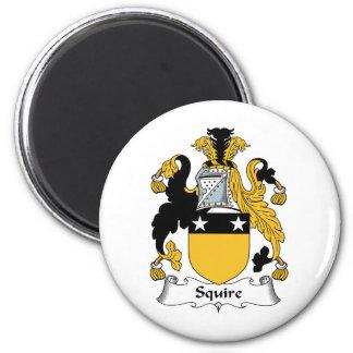 Escudo de la familia del escudero imanes