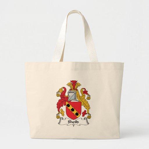 Escudo de la familia del escudo bolsas