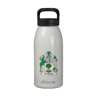 Escudo de la familia del estadio botellas de beber
