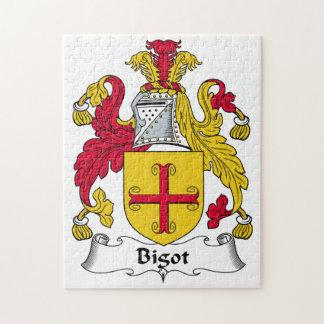 Escudo de la familia del fanático puzzles