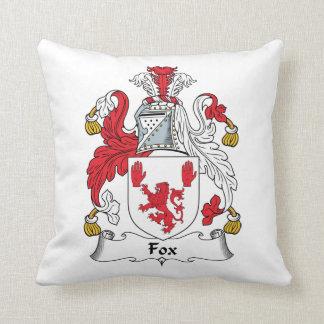 Escudo de la familia del Fox Cojines