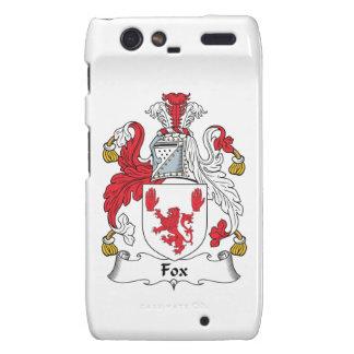 Escudo de la familia del Fox Motorola Droid RAZR Carcasas