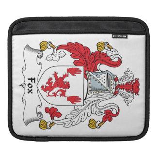 Escudo de la familia del Fox Fundas Para iPads
