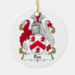 Escudo de la familia del Fox Ornatos