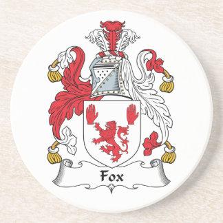 Escudo de la familia del Fox Posavasos Diseño