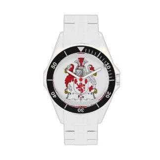 Escudo de la familia del Fox Relojes De Mano