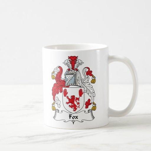 Escudo de la familia del Fox Tazas