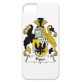 Escudo de la familia del gaitero iPhone 5 protectores