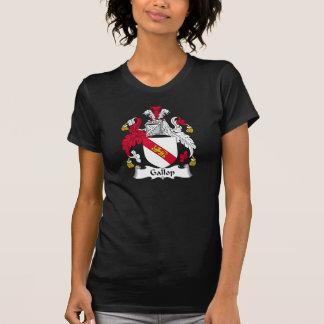 Escudo de la familia del galope camiseta