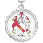 Escudo de la familia del galope grímpola