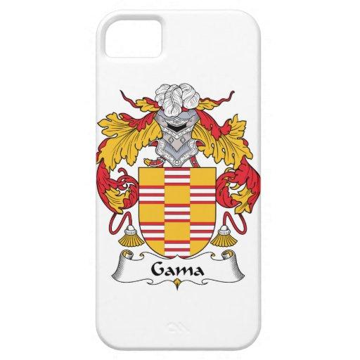 Escudo de la familia del Gama iPhone 5 Carcasas