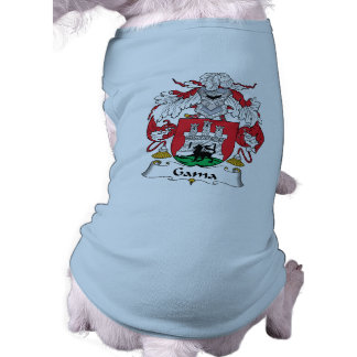 Escudo de la familia del Gama Ropa De Perro