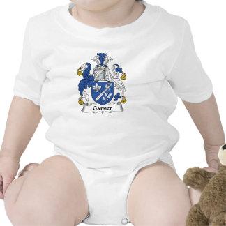 Escudo de la familia del Garner Body Para Bebé